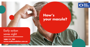 How is your Macular? Comprehensive regular eye tests with your optometrists invaluable